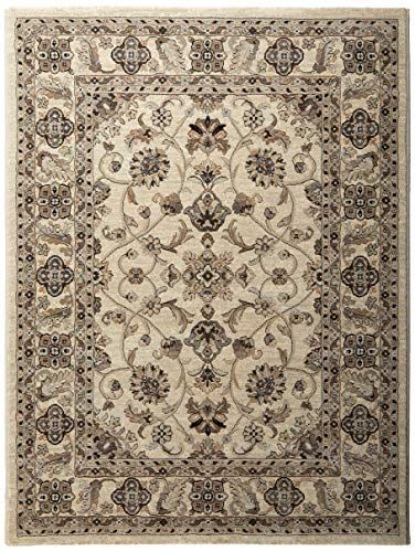 Couristan Everest Collection Rosetta Rug 3 By 5 Feet Ivory Couristan Rugs Area Room Rugs