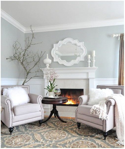 Tranquil Living Room Paint Colors In 2020 Paint Colors For Living Room Formal Living Room Decor Glamour Living Room