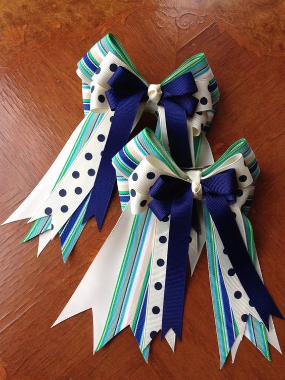 Horse show bows - $30 per pair Click on picture for more details