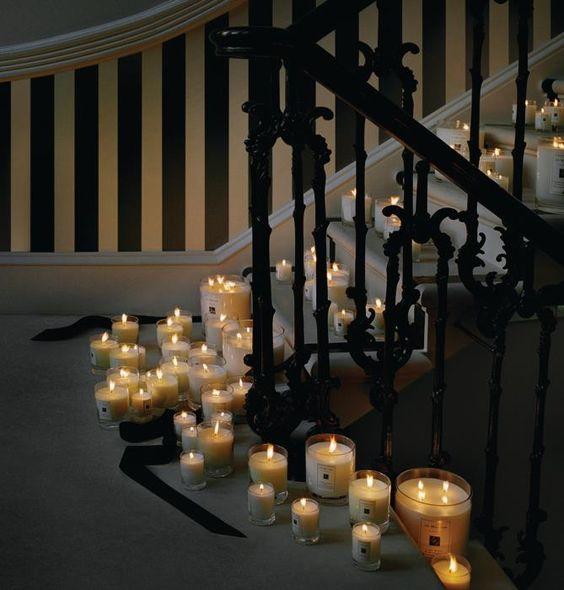 Candele, la luce soffusa per l'autunno -