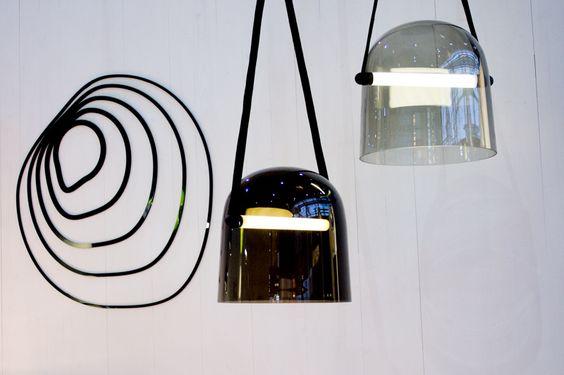 New pendants by Czech brand Brokis  - A walk through Maison&Objet January 2014    Flodeau