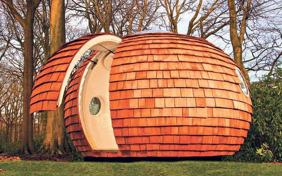 Home offices - archipod - Time Lord office perhaps!