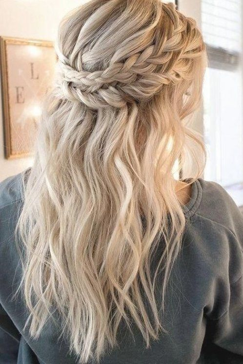 Pin On 2020 Prom Hairstyles