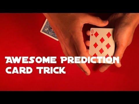 Crazy Prediction Card Trick Card Tricks Easy Card Tricks Cards