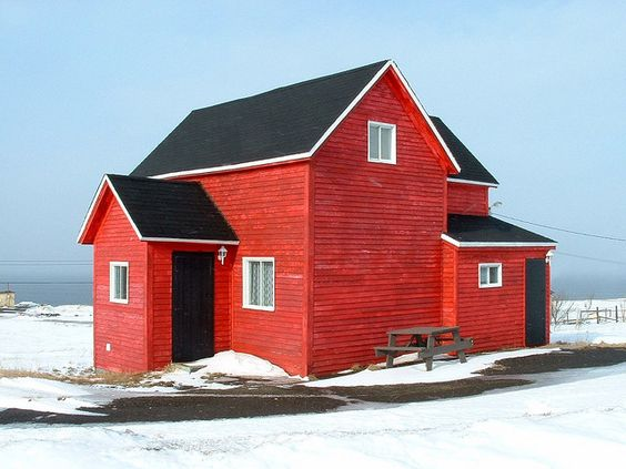 "Ultimate ""barn red""."