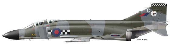 Phantom FG Mk 1 43 Sqn RAF