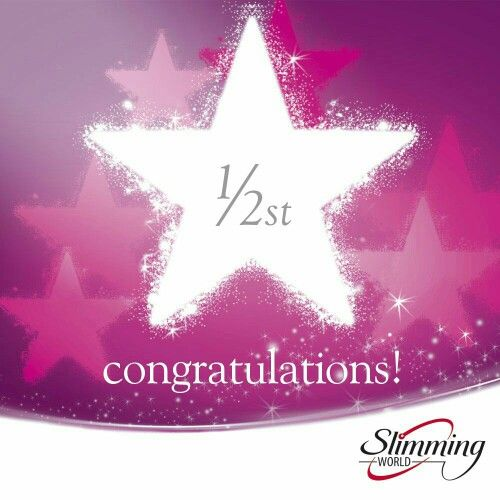 Slimming world 1 2 stone certificate week 5 slimming One you slimming world