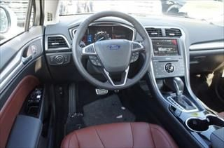 Terracotta interior in the 2015 ford fusion titanium whitemarshford cars for sale at white for 2015 ford fusion titanium interior
