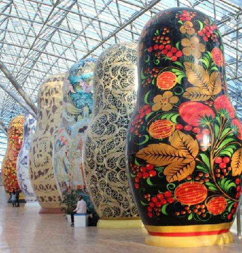 Giant Matryoshka dolls