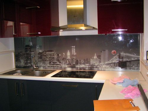DIGITAL PRINT ON GLASS BY COPYEXPRESS by Filippos - wandpaneele küche glas