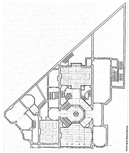 17 best images about art nouveau mimari decks note and hotels - Van plan interieur ...