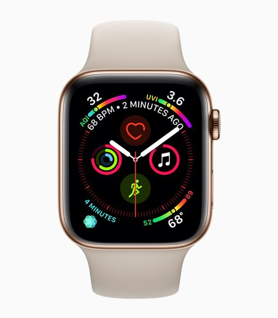 Apple Watch Series 4 Has New Display Ecg App And Fall Detection Apple World Today Apple Watch New Apple Watch Smart Watch