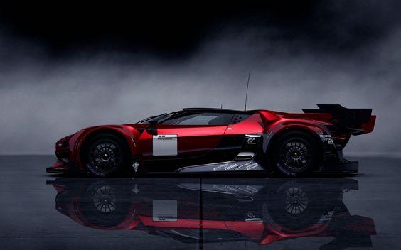 Citroen GT Concept Sports Car