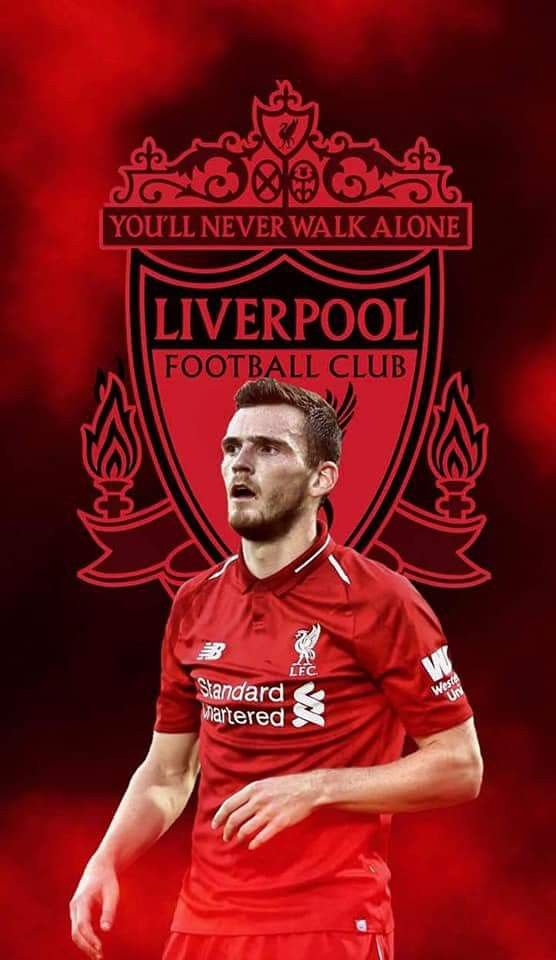 Andy Robertson Liverpool Champions Liverpool Football Liverpool Anfield