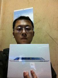 Apple iPad 4 16G WiFi版【白】,得標價格830元,最後贏家b891005566:很開心可以順利得標Apple iPad 4 16G WiFi版【白】,謝謝快標網!