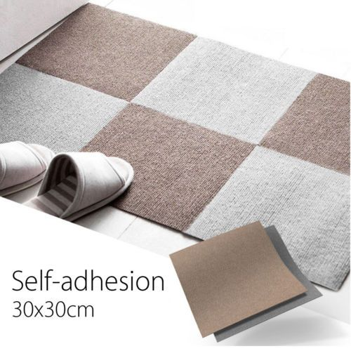 Carpet Tile Floor Mat 12x12 Squares Peel And Stick Adhesive Outdoor Indoor Diy Mykidsupplies Carpet Tiles Commercial Flooring Carpet Tiles Diy
