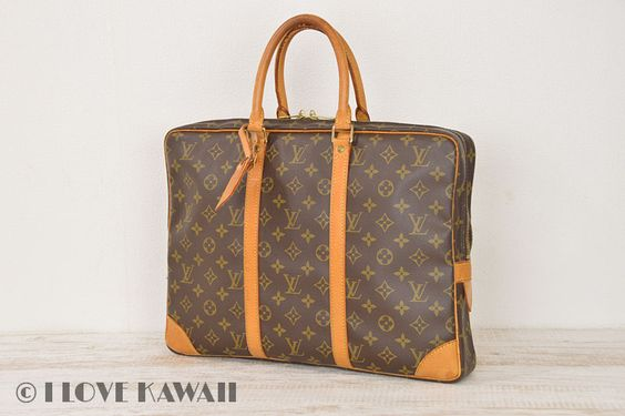 Louis Vuitton Monogram Porte Documents Voyage Business Bag M40226