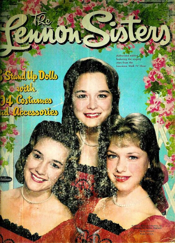Lawrence Welk Show: Four Sisters, Paper Dolls, Sister S Paper, Lennon Sisters, Dolls Loved, Sisters Loved, Sisters Paperdolls