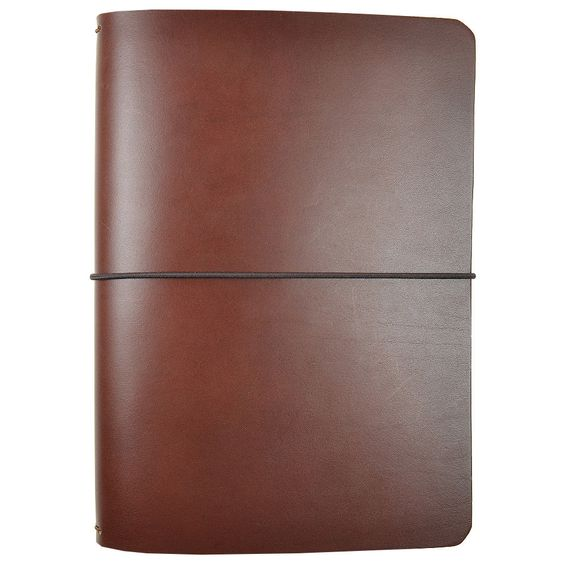 These come from Cult Pens and are made in Devon in the UK. Start Bay notebook cover in dark brown vegetable-tanned, full-grain leather (the thickest and strongest type of leather). This is a simple…