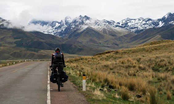 Conheça a história de Sven Schmid alemão que pedalou da #Argentina ao #Canadá e escreveu um livro sobre a aventura https://t.co/32MLXflOfd