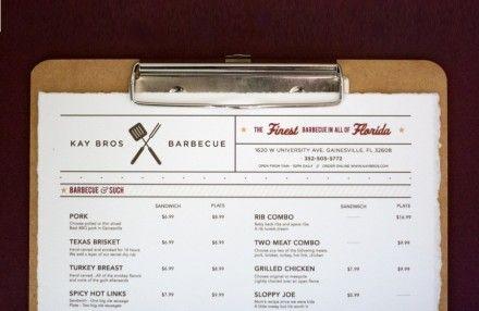 Kay Bros BBQ Restaurant Branding