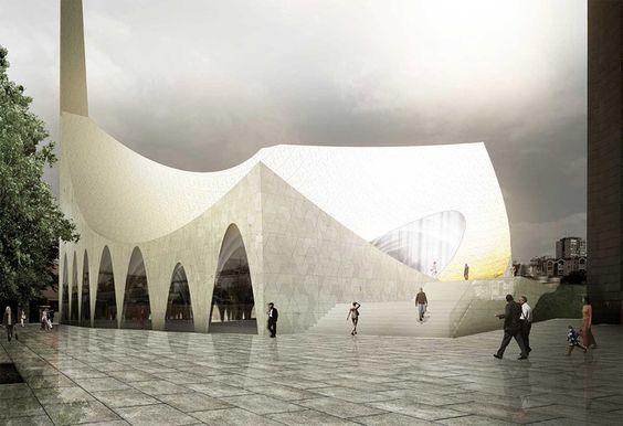 Pristina Mosque concept... #modern #contemporary #design #architecture #pristina #kosovo