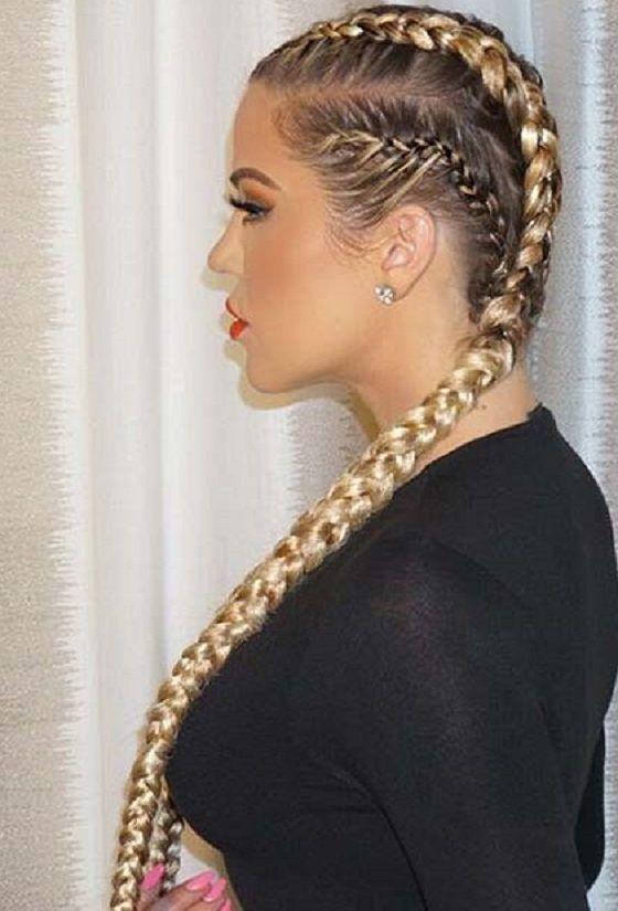 Nos Meilleures Idees Tresses De Boxeuse Pour Les Cheveux Faciles A Faire Tresses Boxeuse Blond Coiffure Originale Coiffure Princesse Cheveux