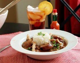 Creole Contessa: Smoked Chicken and Sausage Gumbo