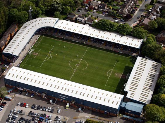 Gigg Lane - Bury FC- Bury