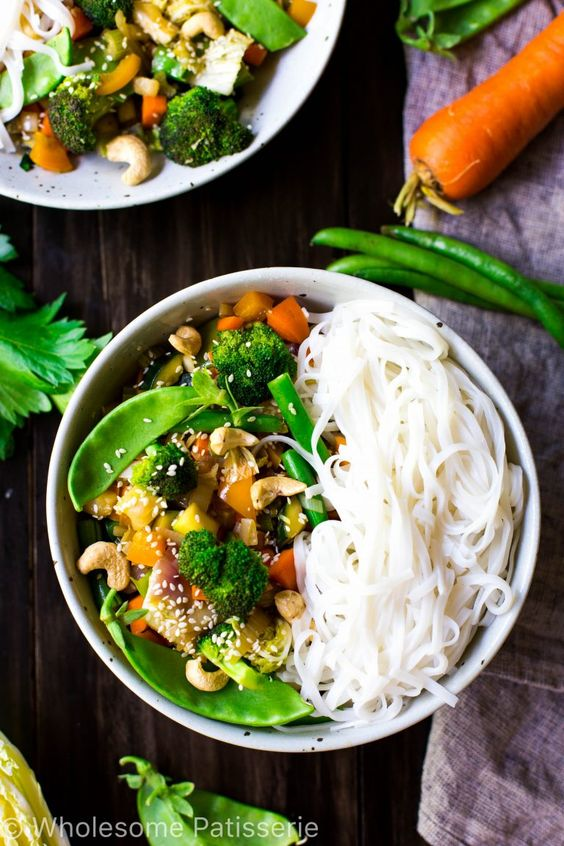 loaded-vegetable-stir-fry-vegan-gluten-free-vegetarian-30-minute-quick-dinner-delicious: