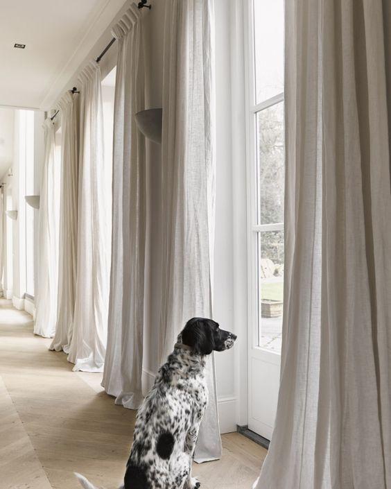 Tende eleganti per il soggiorno: Pin Op Arredamento Interni Salotto