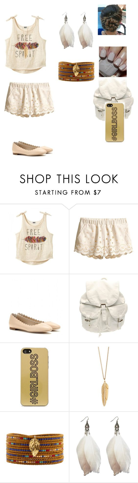 """""""Untitled #9"""" by neoncupcakes23 ❤ liked on Polyvore featuring H&M, Chloé, Sephora Collection, Zero Gravity, ZoÃ« Chicco, Chan Luu and Wet Seal"""