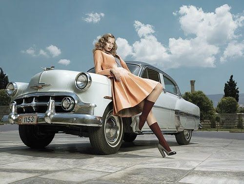 Vintage Classic Cars And Girls Cars And Girls Pinterest