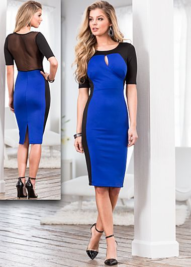 Blue dress or black dress xl