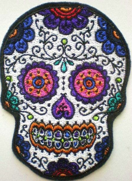 Sugar skull, Skulls and Sugar on Pinterest