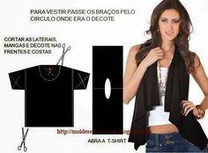 ARTESANATO COM QUIANE - Paps,Moldes,E.V.A,Feltro,Costuras,Fofuchas 3D: Customizando camiseta T-shirt