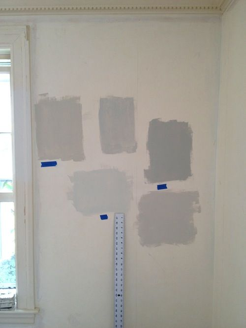 Erin gates elements of style clockwise from top left - Benjamin moore gray mist exterior ...