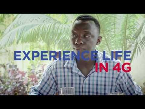 """Smart 4G @smart_tanzania: """"Live Smart"""" by TBWA Khanga Rue @khangaruemedia. If you're not on 4G, you're just not on. A man experiences life with some delays because he is still on 3G. Agency: TBWA Khanga Rue"""