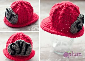 Firefighter Helmet Would be adorable for a newborn session when the daddy is a firefighter: )