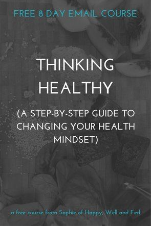 The way you think about your health changes everything. That's why I've created this free email course to help you change your health mindset. Smashed health goals here you come!