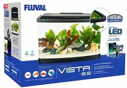 Fluval Vista Aquarium Kit 8 5 Gallon Betta Fish Aquarium Kit Fish Tank For Sale