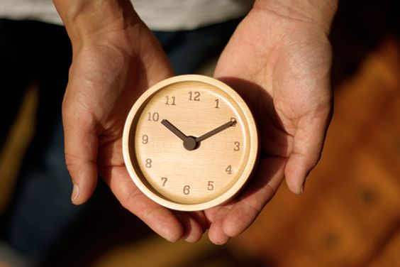45 Presents He'll Really Love for Christmas: MUKU desk clock, $50, from My Cuppa Tea, via WeeBirdy.com.