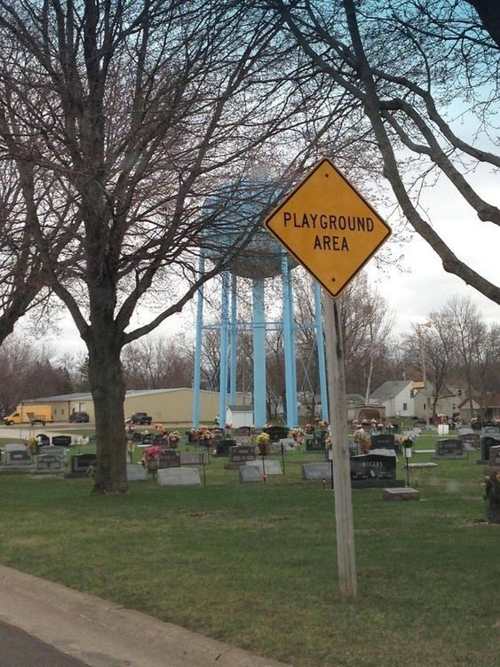 This super-fun playground.   23 Signs That Aren't Doing Their Jobs Right
