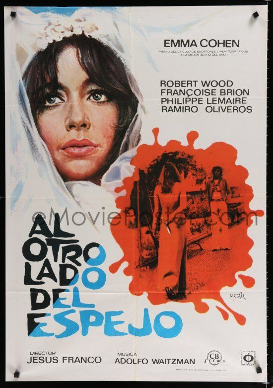 The Other Side Of The Mirror 1973 Via Spain Thriller Movies Horror Movies Movie Posters