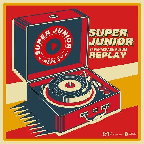 SUPER JUNIOR – REPLAY – The 8th Repackage Album