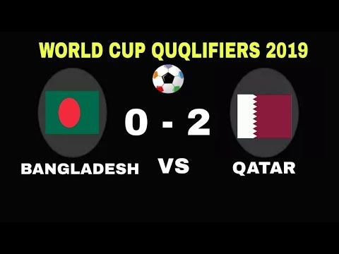Bangladesh Vs Qatar Football Match 2022 Qatar World Cup Qualifier Qatar Football World Cup Qualifiers Football Match