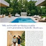 Landscape Architect Gavin Duke collaborated with architect John Abernathy of Nashville firm DA|AD & the Carter Group on this renovation. Duke created environments that enhance outdoor living by uniting the architecture of the indoor and outdoor spaces. The artful design of this modern home is truly reflected in the landscape.