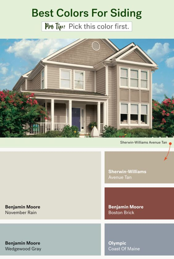 These Are The Most Popular Exterior Home Colors Popular Public Opinion And Other