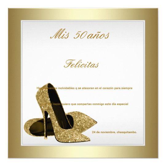 Invitación Blanco Y Cumpleaños De La Mujer De Los Tacones