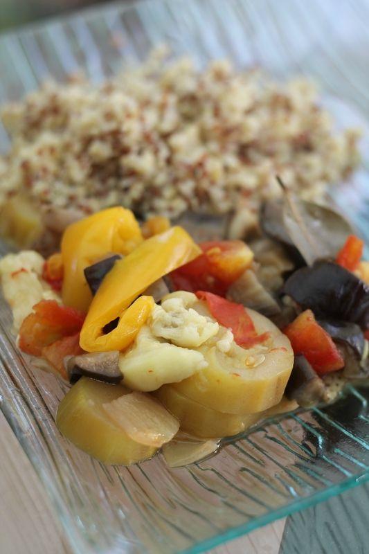 Ratatouille au cookeo recettes cookeo pinterest - Cuisiner la ratatouille ...
